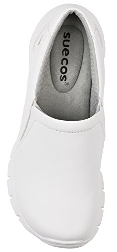 Nova Da Donna Suecos® bianco Lavoro Scarpe Blanco awqdEpd