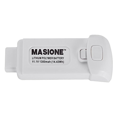 MASIONE 11.1V 1300mAh Lithium Polymer Battery for Yuneec Breeze 4K Flying Camera Drone Quadcopter