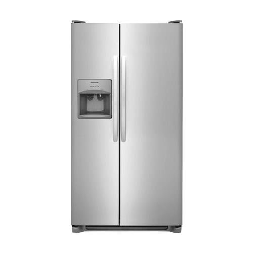 Frigidaire FFSS2315TS 33 Inch Side by Side Refrigerator with 22.1 cu. ft. Capacity, in Stainless Steel (Best Side By Side Refrigerator Brand)