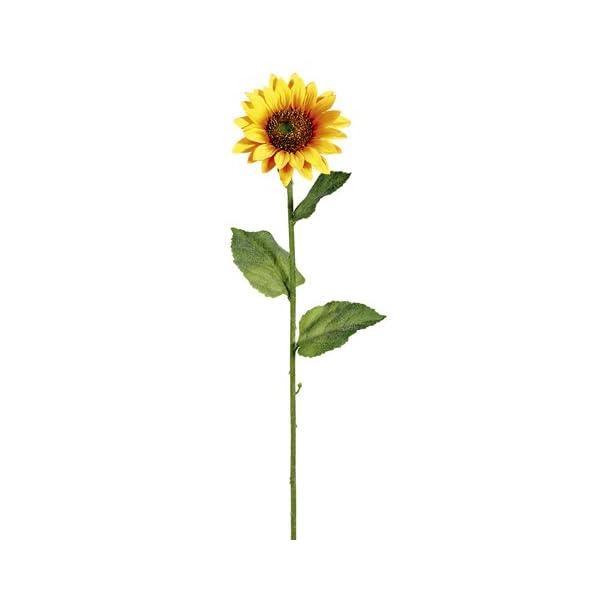 23″ Sunflower Spray x1 Yellow Gold (Pack of 12)