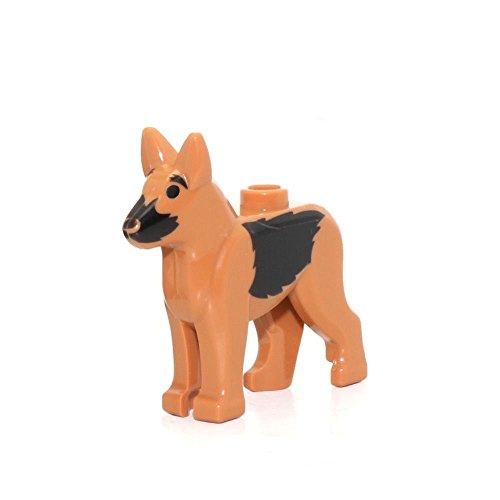 LEGO Animal (German Shepherd, Police Dog) w/ Black Eyes, Muzzle