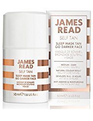 James Read Sleep Mask Tan Face Go Darker, Overnight Tan 1.6f