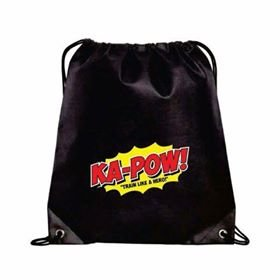 The KA-POW! HERO BAG is a Water Resistance Drawstring Gym Sack. Great for Carrying your Supplements, Workout Gear, and Everyday Items. by HERO SUPPLEMENTS