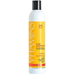Vitamins Hair Loss CONDITIONER - Best Hair Growth Treatment For Men and Women - Reduces Thinning and Stimulates Regrowth for Thicker Hair - Boosts the power of Vitamins Hair Loss Shampoo