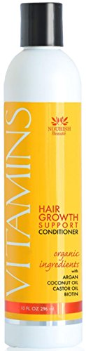 Vitamins Hair Loss CONDITIONER - Best Hair Growth Treatment For Men and Women - Reduces Thinning and Stimulates Regrowth for Thicker Hair - Boosts the power of Vitamins Hair Loss Shampoo Silk Therapy Thickening Shampoo