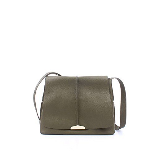 CO Simona Twin Barbieri AS7T2Q Verde con pelle in UNICA tracolla Borsa Verde VERDE donna set BqqWwxf75
