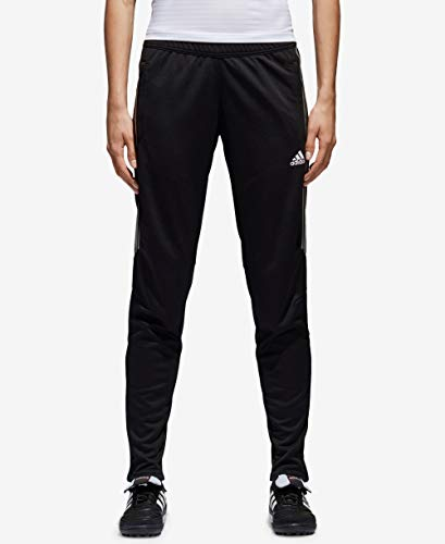 adidas Women's Tiro '17 Pants Black/Metallic Rose Gold X-Large