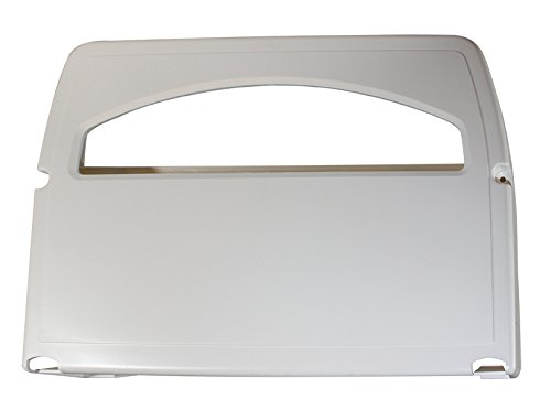 Impact 1120 Plastic Toilet Seat Cover Dispenser, 11'' Height x 16'' Width x 3-1/4'' Depth, White (Case of 2)