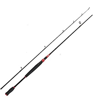 Entsport E Series – Sirius 2 Piece Spinning Rod Graphite Portable Spinning Fishing Rod Inshore Spinning Pole Freshwater Spin Rod 8-20-Pound Test
