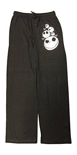 Nightmare Before Christmas Jack Skellington Knit Graphic Sleep Lounge Pants - Medium