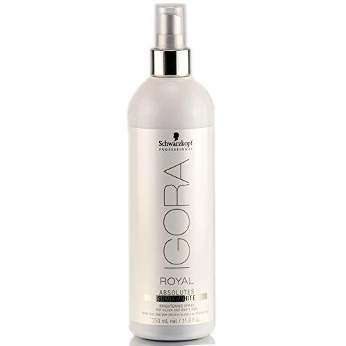 Schwarzkopf Professional Igora Royal Absolutes Silverwhite Brightening Spray - 11.8 oz by Schwarzkopf Professional