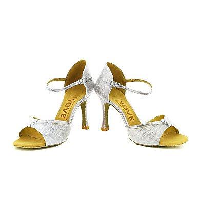 XIAMUO Anpassbare Frauen Beruf Tanz Schuhe, Rot, US 9.5-10/EU 41/ UK 7,5-8/CN 42