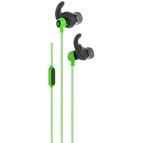 JBL Reflect Mini In-Ear Headphones 3.5mm Stereo Wired Sweatproof Earbud with 1 Button Remote and Mic