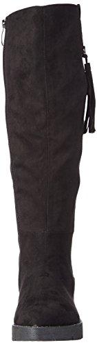 Tamaris 25623 - botas de caño alto de material sintético mujer negro - negro