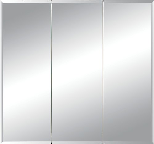 Jensen 255030 Horizon Frameless Medicine Oversize Cabinet, 27-3/4-Inch by 24-3/4-Inch by 3-1/2-Inch