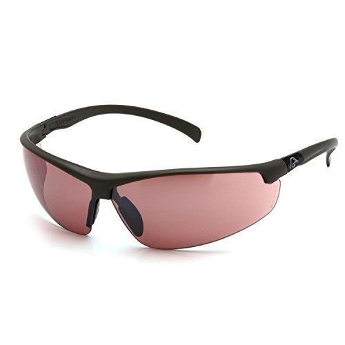 Glasses Vermillion Lens - Ducks Unlimited Shooting Eyewear, Black Frame/Vermillion Lens