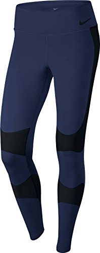 NIKE Womens Power Legend 28'' High-Rise Traning Tights,Blue, X-Small by NIKE