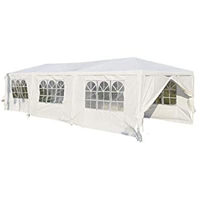 DAV's Store 10'x30' New Outdoor Canopy Party Wedding Tent Heavy Duty Gazebo Pavilion Cater Events Portable Patio Garden Playground Shelter Cover : Garden & Outdoor