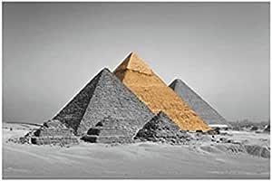 Photo Block Egypt Sites Landscape Tableau 60cmx 40cm