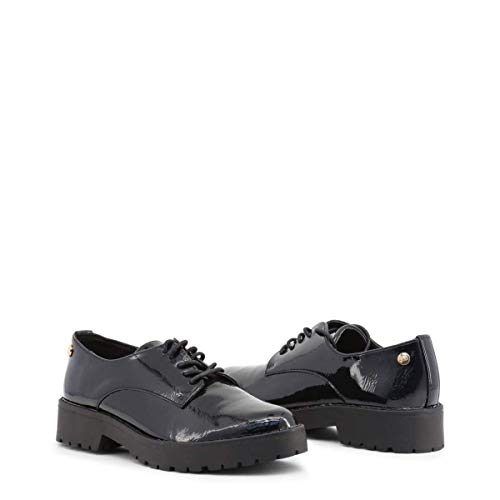 Black 047512 Oxford Stringate Donna XTI Scarpe 4wqU0C