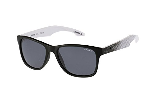 Shore Temple - O'Neill Shore 197P Polarized Wayfarer Sunglasses, Matte Black Pattern