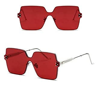 YLNJYJ Candy Crystal Square Sunglasses Men Women Gothic Fashion Shades Uv400 Vintage Brand Glasses Designer Oculos