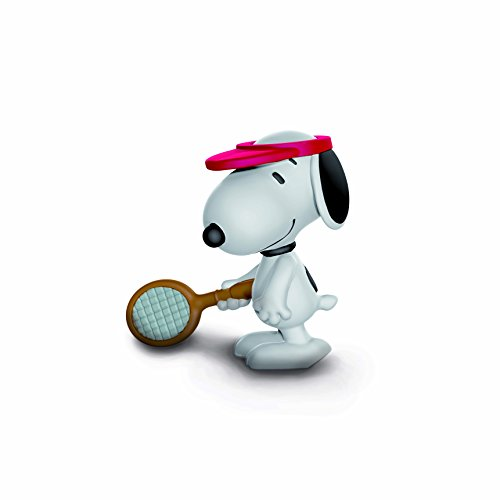 Schleich Peanuts Tennis Player Snoopy Toy - Tennis Toy Player