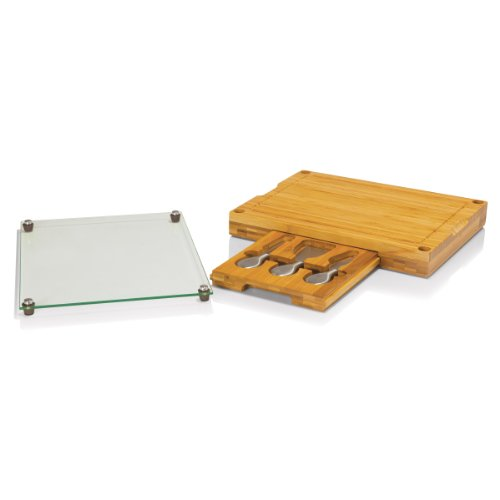 TOSCANA - a Picnic Time Brand Concerto 5-Piece Cheese Board Serving ()
