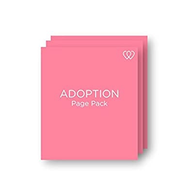 Adoption - Baby Book Page Pack