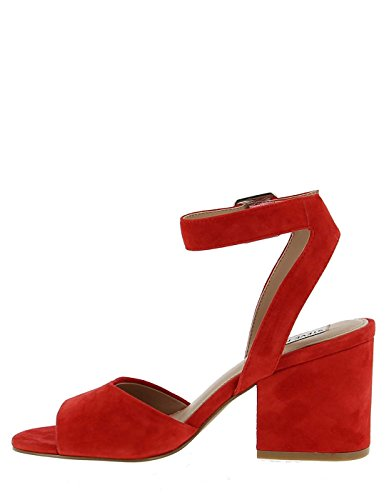 Heel by Sandal Steve Madden Red Red RI1UfqE