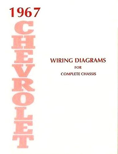 1967 Chevy Biscayne - STEP-BY-STEP 1967 CHEVROLET CARS COMPLETE 10 PAGE SET OF FACTORY ELECTRICAL WIRING DIAGRAMS & SCHEMATICS GUIDE - INCLUDES: Caprice, Impala, Bel Air & Biscayne and full size Station Wagons CHEVY 67