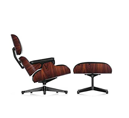 Vitra sillón Lounge Chair & Ottoman Palisandro: Amazon.es: Hogar