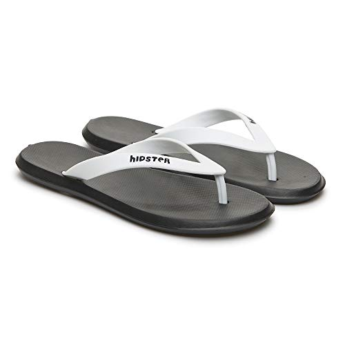 Dune-ast 741 Black and White Flip-Flop for Men Size 10M Durable Soft  Material EVA Lighweight