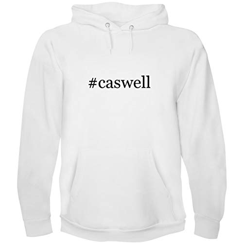 - The Town Butler #Caswell - Men's Hoodie Sweatshirt, White, Medium
