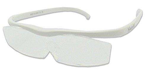 Hazuki Loupe Magnifier Clear Lenses White
