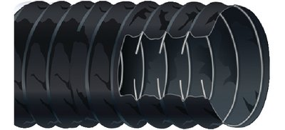 "Sierra International 16-402-3003-1 3"" X 10' Black Marine Blower Hose"