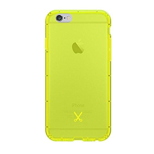 Philo Airshock Case per iPhone 6/6S, Giallo Fluo