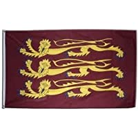 5ft x 3ft Old Historic England Richard Lionheart Material Flag