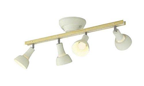 コイズミ照明 シャンデリア 白熱球60W×4灯相当 ナチュラルウッド色 AA47248L B072K4LJ25 29400
