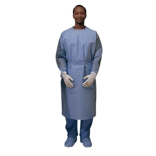 Cardinal Health 3201PG Nonsterile Procedure Gown, XL, SMS Fabric, Blue (Pack of 60)