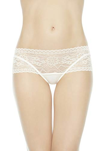 La Perla Women's Underwear Lingerie Rosa Panties High Brief (19819) (Medium / 3, White)