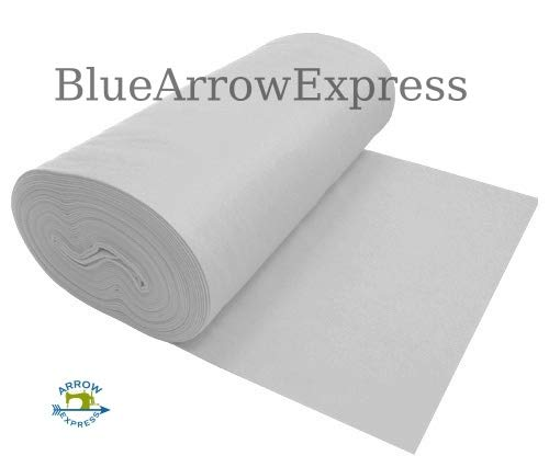 BlueArrowExpress Classic Craft Felt - a Polyester Fiber - Cut it, Glue it, sew it, wash it - Cuts Cleanly Ideal for Home, School, Camp, Stencils - Pennant Felt - 1 yd x 36'' by BlueArrowExpress
