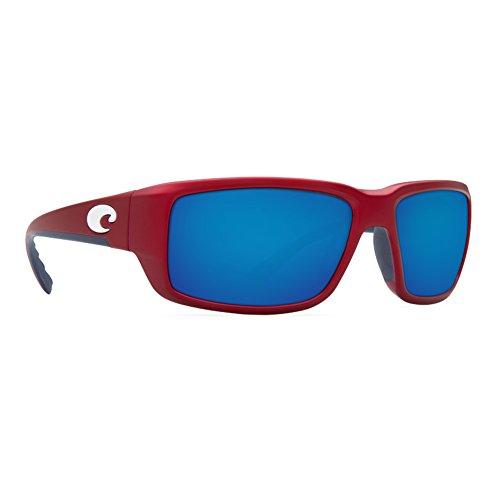 Sunglasses Red Blue Costa Usa Mirror Fantail q1UwxEFxH