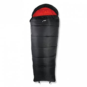 Gelert Huddle – Saco de dormir infantil, Black/Red, ...