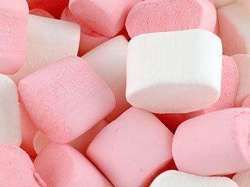 Marshmallows Bulk Buy - 1Kg Bag (180pcs) by Treasure Island Sweets