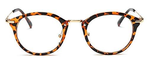 Labu Store Fashion Women Glasses Frame Men Eyeglasses Frame Vintage Round Clear Lens Glasses Optical Spectacle Frame