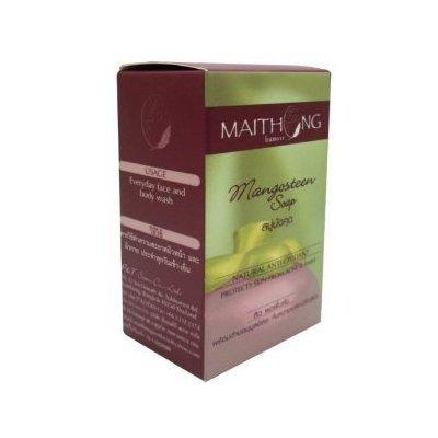 Maithong Mangosteen Soap Anti-oxidant Natural Herbal 100g. by molona