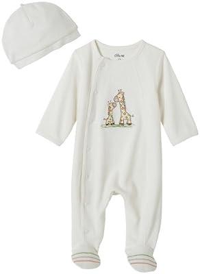 Little Me Unisex Baby Giraffe Layette Footie