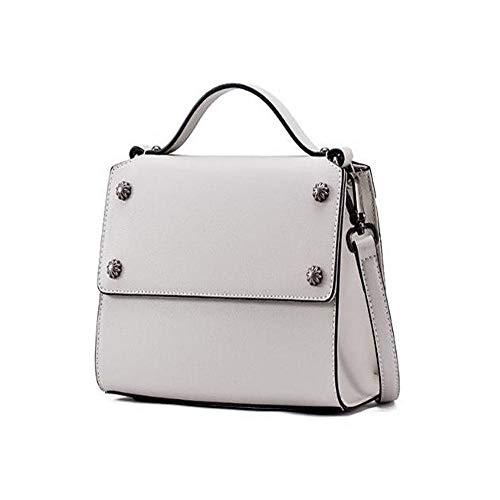 donna della rivetto tracolla a borsa semplice piccola Sxuefang croce borsa moda singolo pelle borsa In oblique TFOvwxBqv