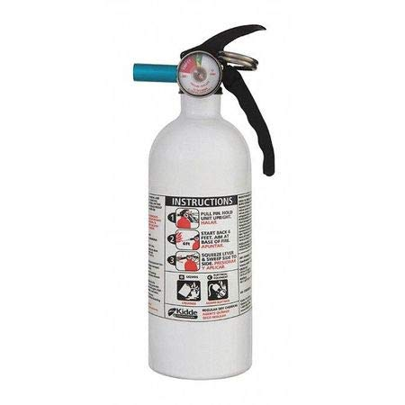 """Fire Extinguisher, 5B:C, Dry Chemical, 2 lb, 11-5/16""""H"""